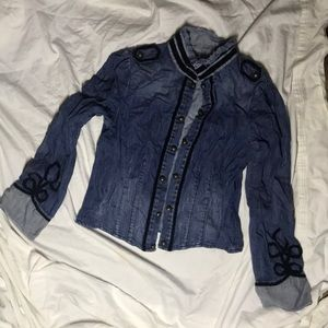 Jean jacket by Jessica Simpson used size large
